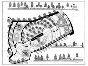 progetto giardino a Roma 1