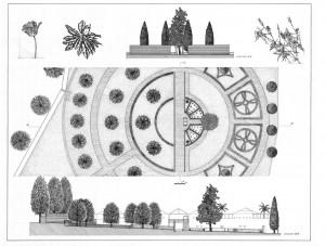 progetto giardino a Roma 2